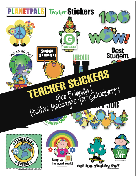 Planetpals Exclusive Teacher Stickers