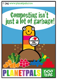 Let Squirmey Wormey teach you about composting
