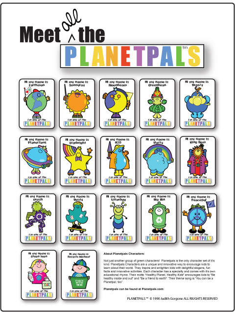 meet the planetpals