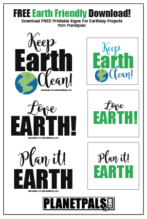 Free Download Earth Earthday Signs For Everyday