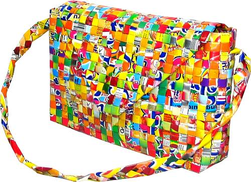 Purses Made Out of Candy Wrappers