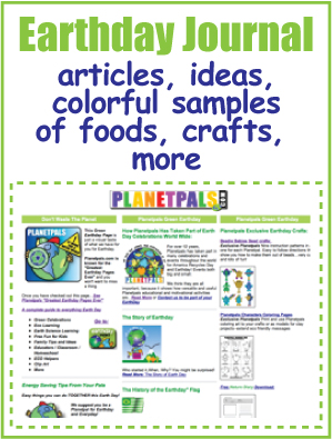 planetpals earthday journal