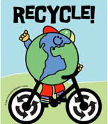 recycle for earthday