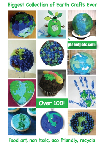 over 100 earthday crafts