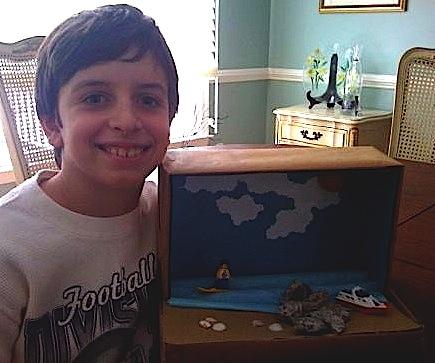 Planetpals Craft Page: make a shoe box diorama recycle
