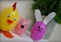 easter egg recycle craft