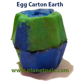 egg carton diy recycle earth craft earthday