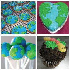 our whole collection of earthday food art