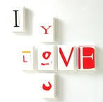 valentines recycle magnets craft