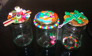 Recycled Jars ideas