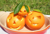 edible art halloween pumpkins