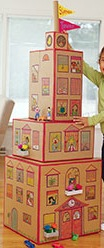 recycle box craft kids