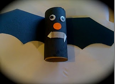 toilet paper roll recycled bat craft halloween