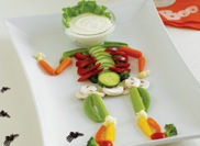 vegetable edible halloween food